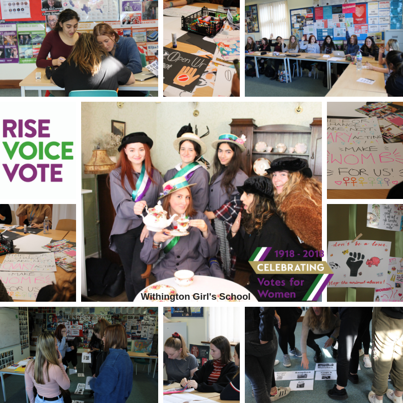 Votes at 16?  Withington Girls let us know what they think…