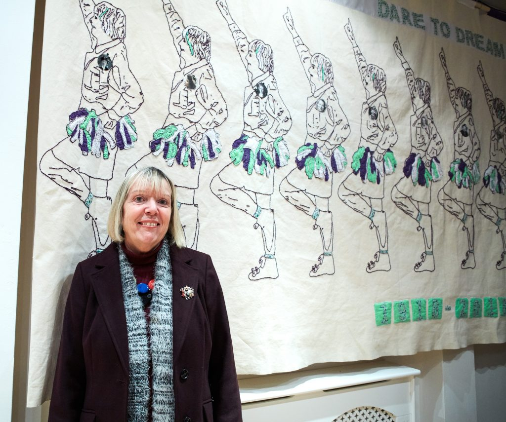 'Embroidery has always been involved in female activism and gender politics'; Interview with Gail Riding, Centenary City artist