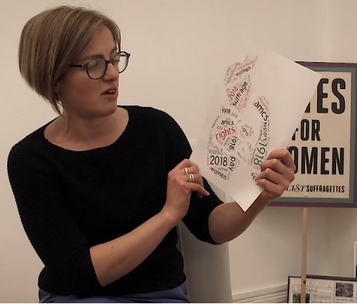 'They didn't just learn about the history of the Suffrage movement, but also about people's rights now'; Interview with Daisy Horsley, Local Heritage Education Manager, Historic England