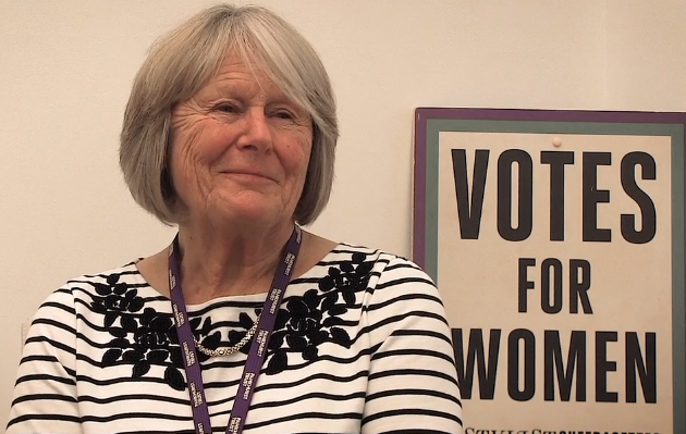'Walking as a Suffragette, I felt like a role model'; Interview with Susan Hollick, Pankhurst Centre Volunteer